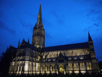 Salisbury Cathedral evening